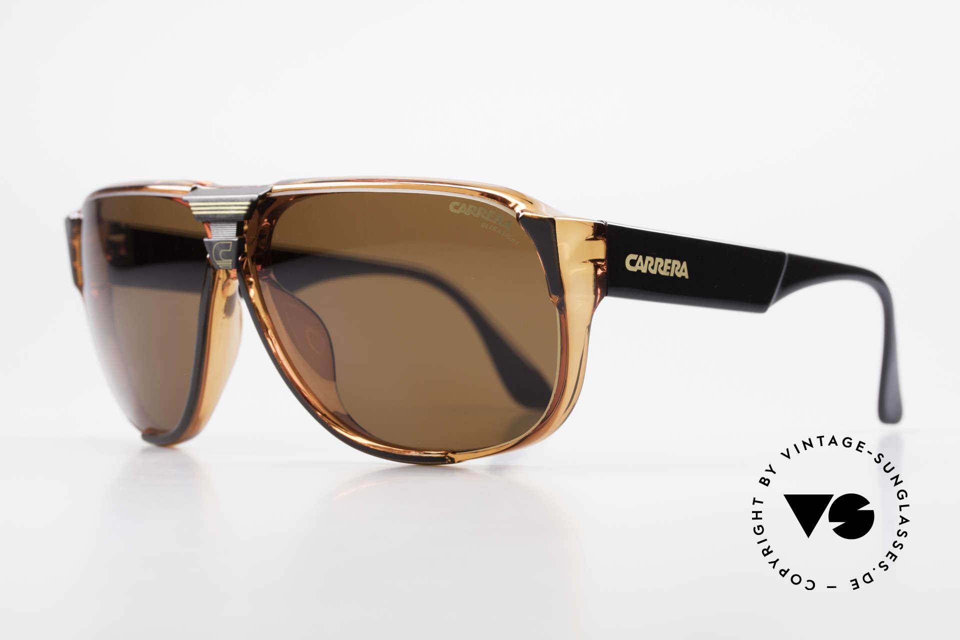 Carrera 5431 Men's 80's Sportsglasses Optyl, state-of-the-art lenses (2 sets) & with orig. case, Made for Men