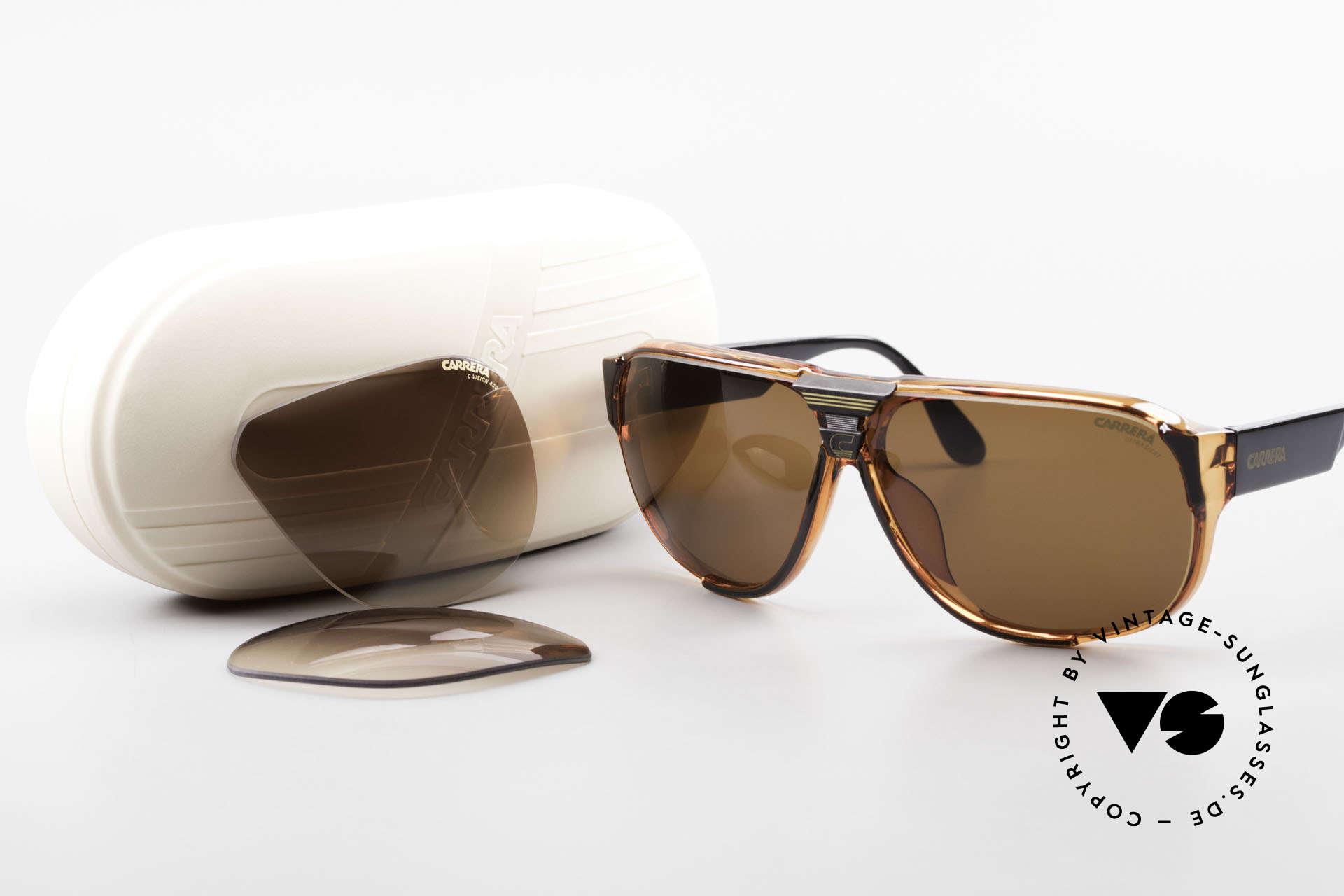 Carrera 5431 Men's 80's Sportsglasses Optyl, NO RETRO sunglasses; a rare vintage ORIGINAL, Made for Men