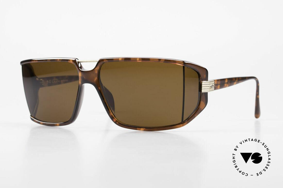 Christian Dior 2440 80's Monsieur Men's Shades, futuristic Christian Dior men's sunglasses from 1989, Made for Men