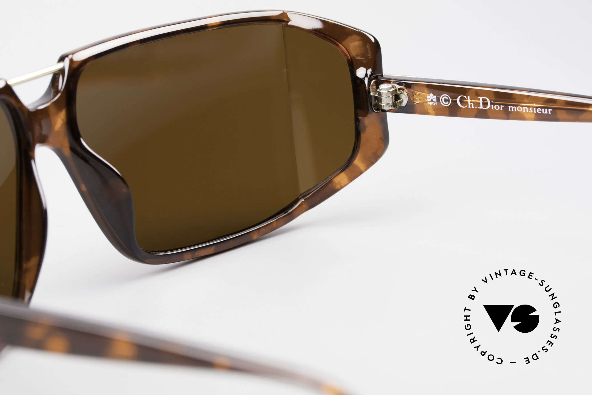 Christian Dior 2440 80's Monsieur Men's Shades, NO retro sunglasses, but an app. 30 years old unicum, Made for Men