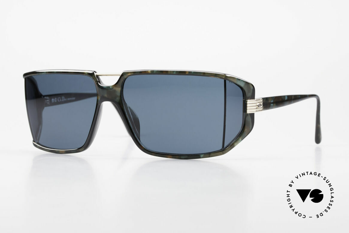Christian Dior 2440 80's Monsieur Side Shield Mask, futuristic Christian Dior men's sunglasses from 1989, Made for Men