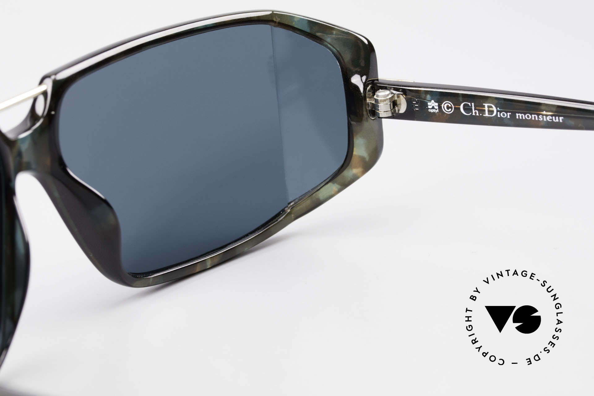 Christian Dior 2440 80's Monsieur Side Shield Mask, NO retro sunglasses, but an app. 30 years old unicum, Made for Men