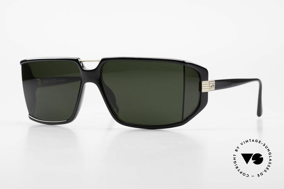 Christian Dior 2440 80's Dior Monsieur Sunglasses, futuristic Christian Dior men's sunglasses from 1989, Made for Men