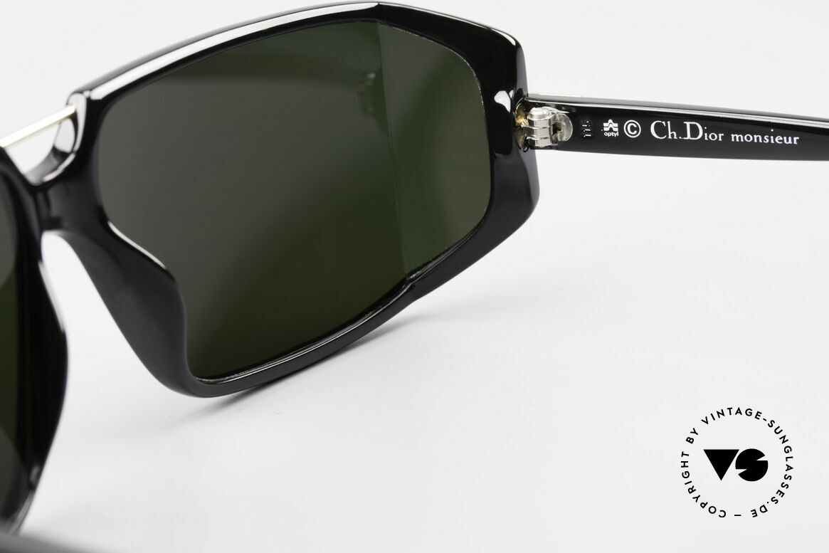 Christian Dior 2440 80's Dior Monsieur Sunglasses, NO retro sunglasses, but an app. 30 years old unicum, Made for Men
