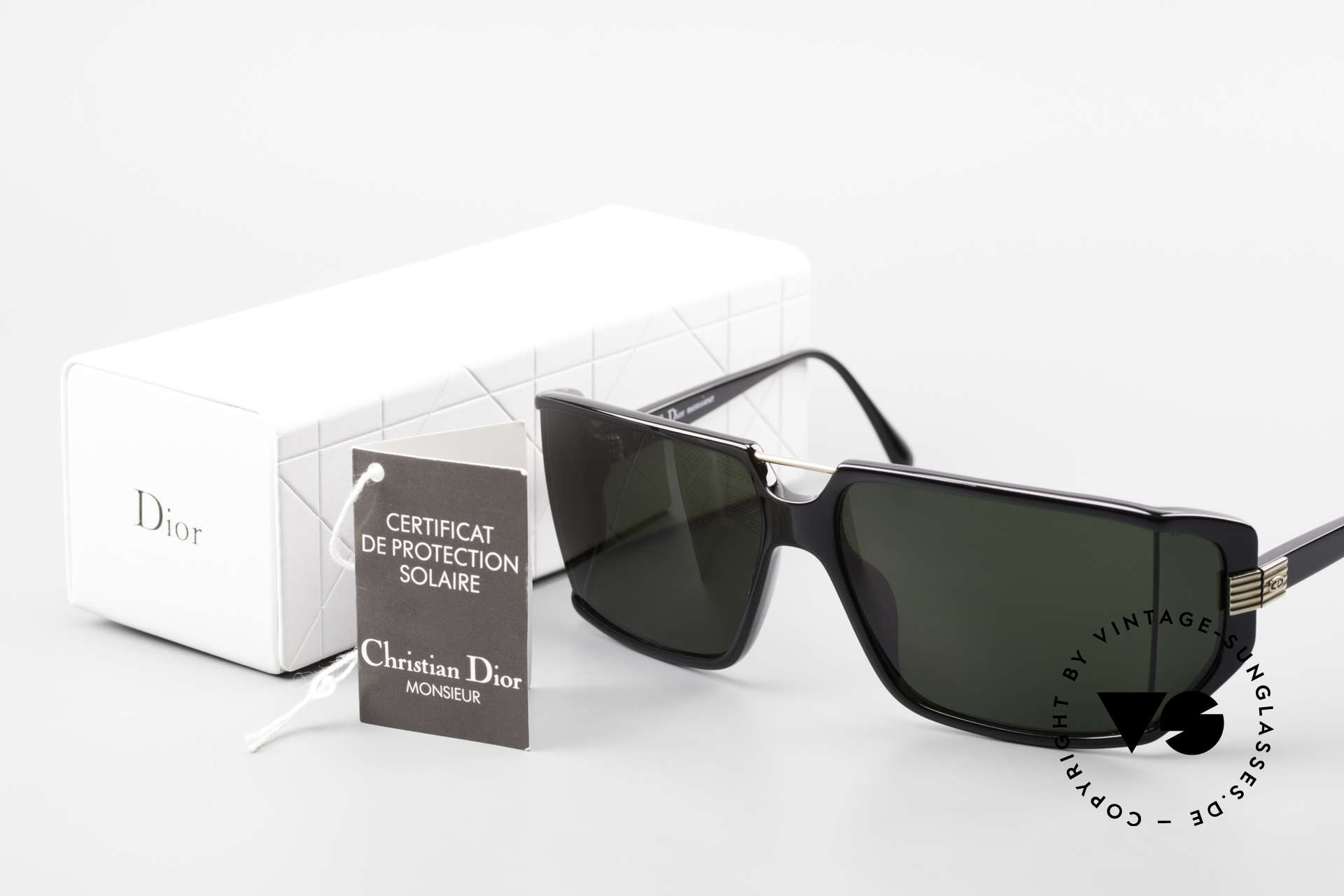 Christian Dior 2440 80's Dior Monsieur Sunglasses, Size: large, Made for Men