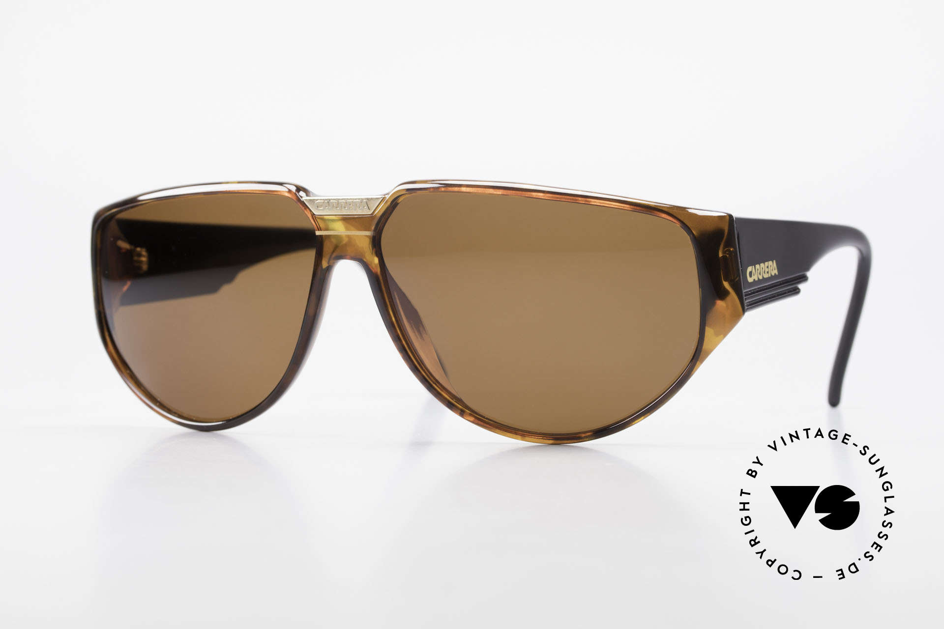 Carrera 5417 Rare 80's Sportsglasses Optyl, old, original Carrera sports sunglasses from 1989, Made for Men