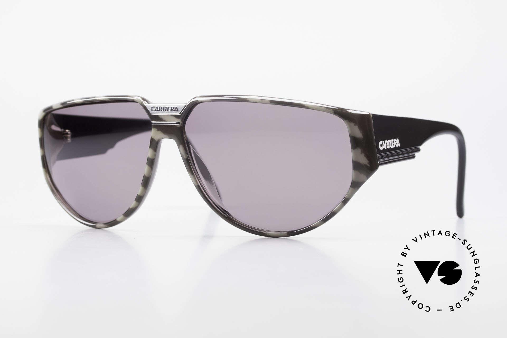 Carrera 5417 Camouflage 80's Sportsglasses, old, original Carrera sports sunglasses from 1989, Made for Men