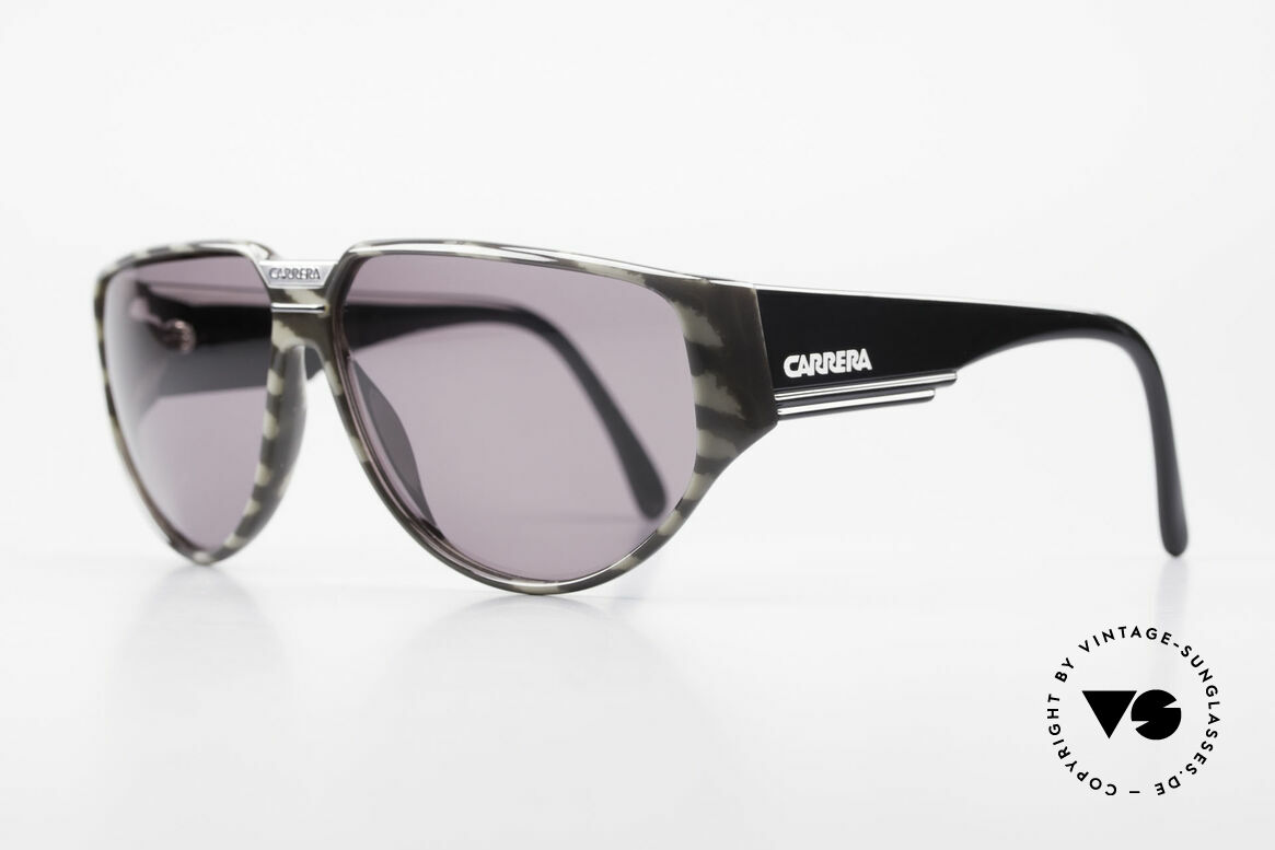 Carrera 5417 Camouflage 80's Sportsglasses, massive frame with beamy temples; + Carrera case, Made for Men