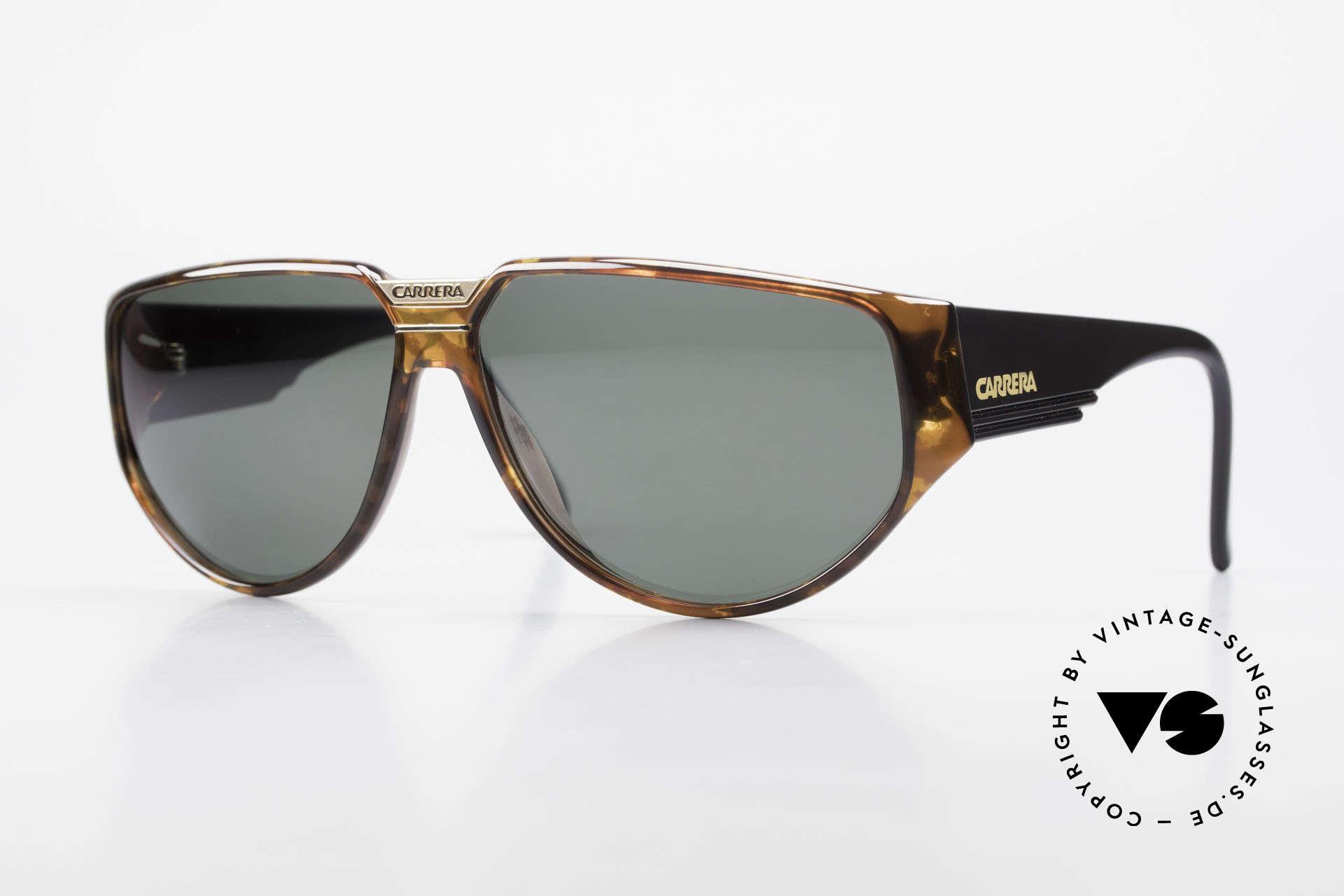 Carrera 5417 Designer 80's Sportsglasses, old, original Carrera sports sunglasses from 1989, Made for Men