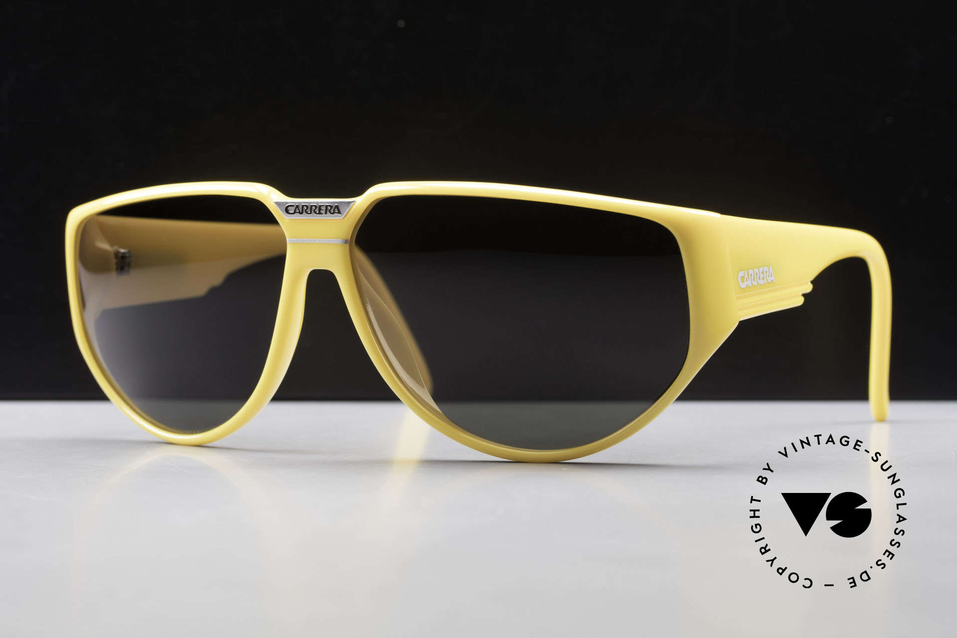 Carrera 5417 80's Vintage Sports Sunglasses, TOP quality, thanks to incredible OPTYL material, Made for Men