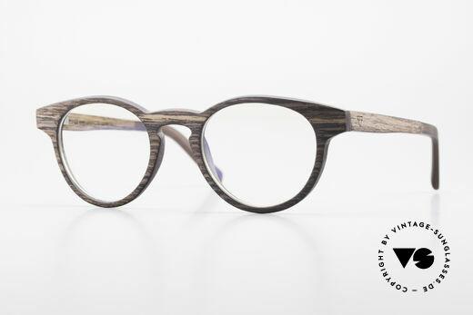 Kerbholz Friedrich Panto Wood Glasses Kingwood Details