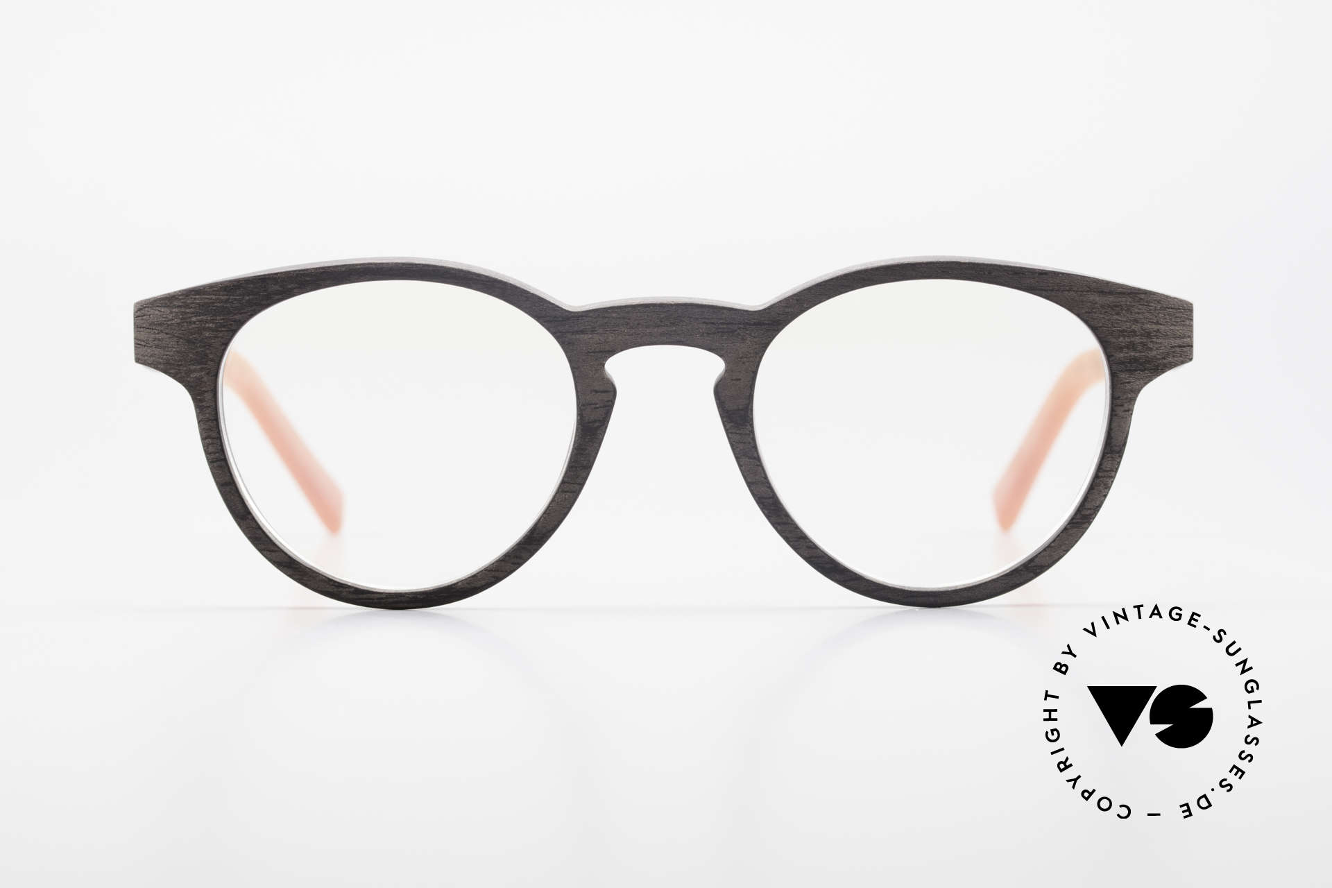 Kerbholz Friedrich Wood Frame Panto Blackwood, made from Blackwood (African Blackwood / Mpingo), Made for Men and Women