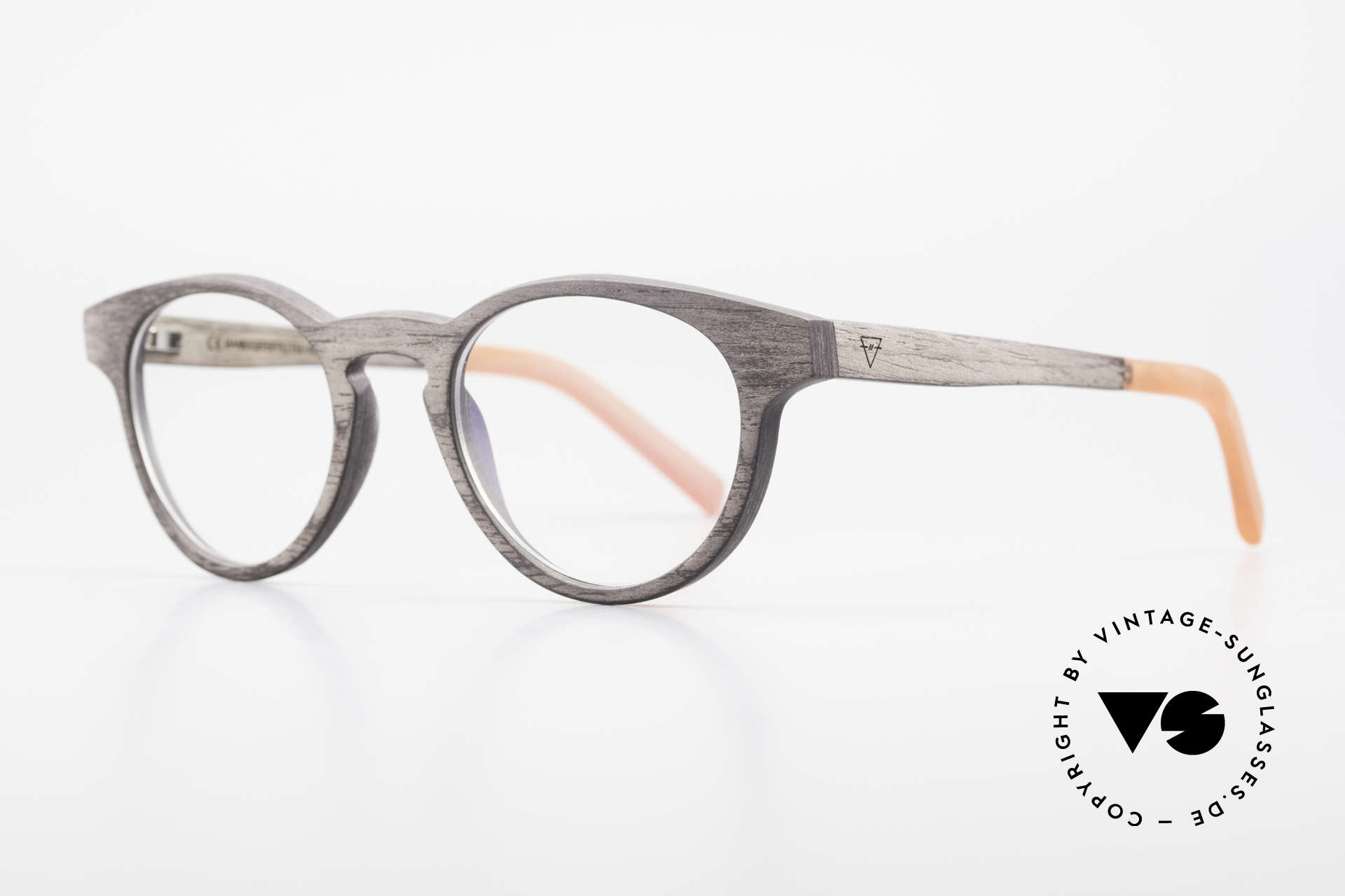 "Kerbholz Friedrich Wood Frame Panto Blackwood, the basic color varies from ""black"" to ""brown-black"", Made for Men and Women"