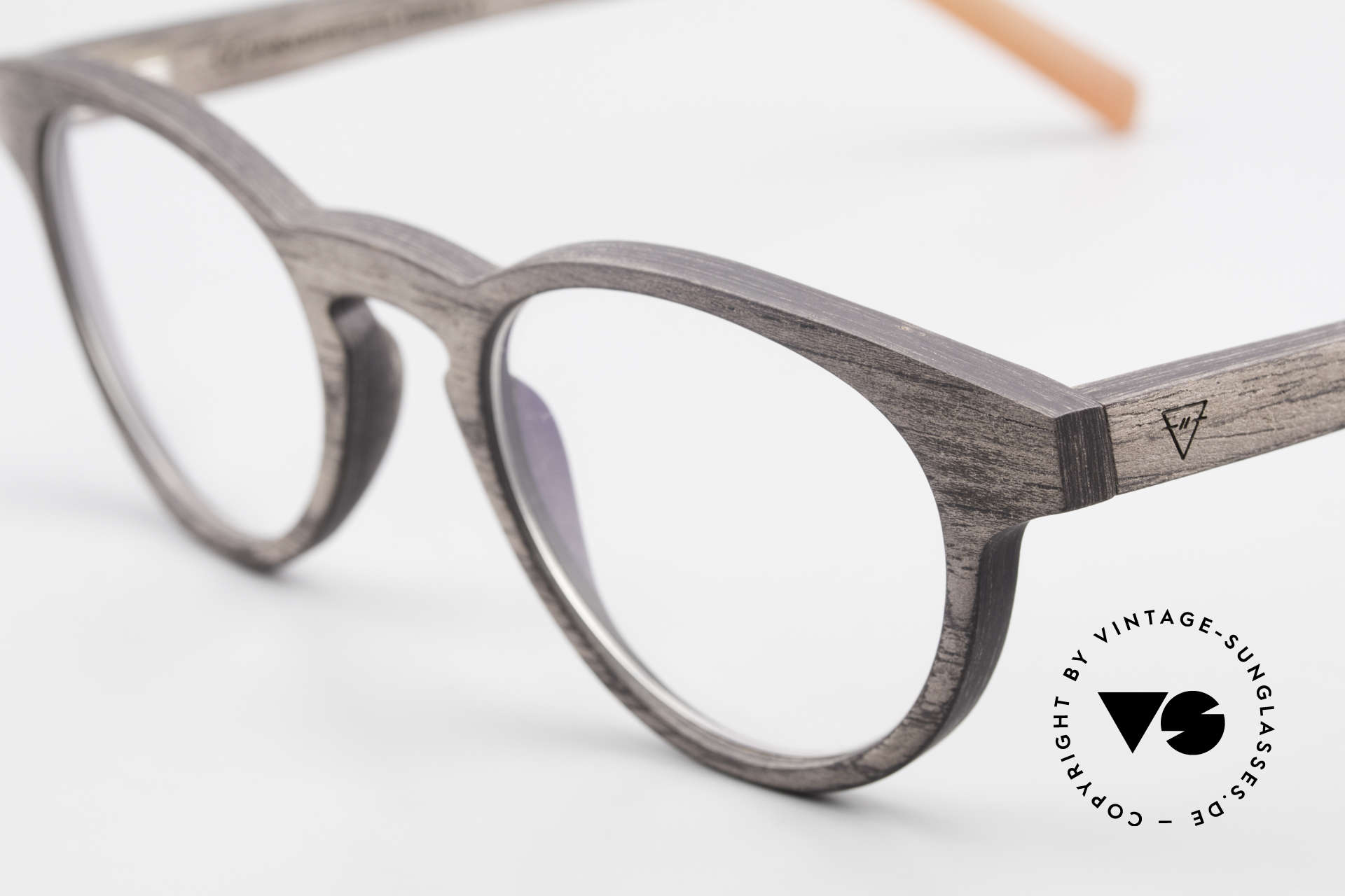 Kerbholz Friedrich Wood Frame Panto Blackwood, a unique rarity (pure natural material, handmade), Made for Men and Women
