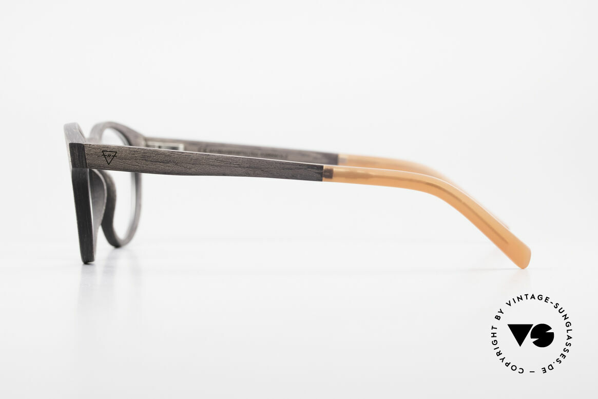 Kerbholz Friedrich Wood Frame Panto Blackwood, every model (made from pure wood) looks individual, Made for Men and Women