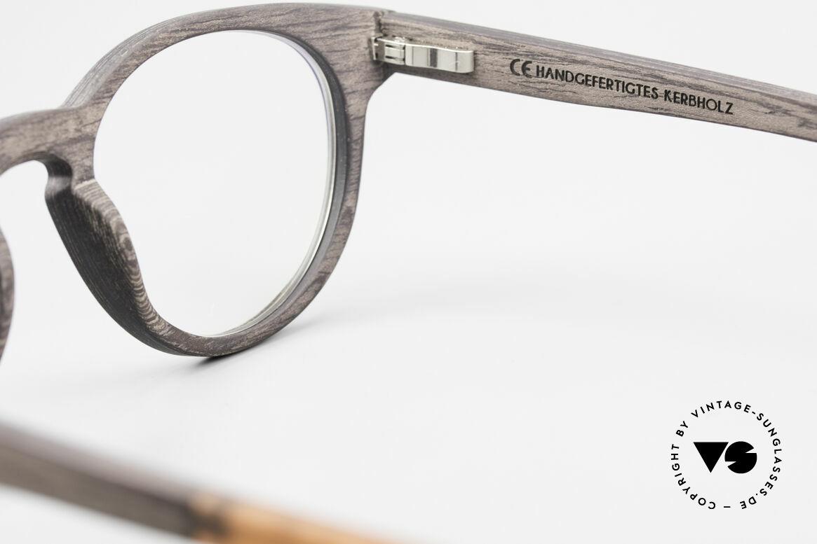 Kerbholz Friedrich Wood Frame Panto Blackwood, Size: medium, Made for Men and Women