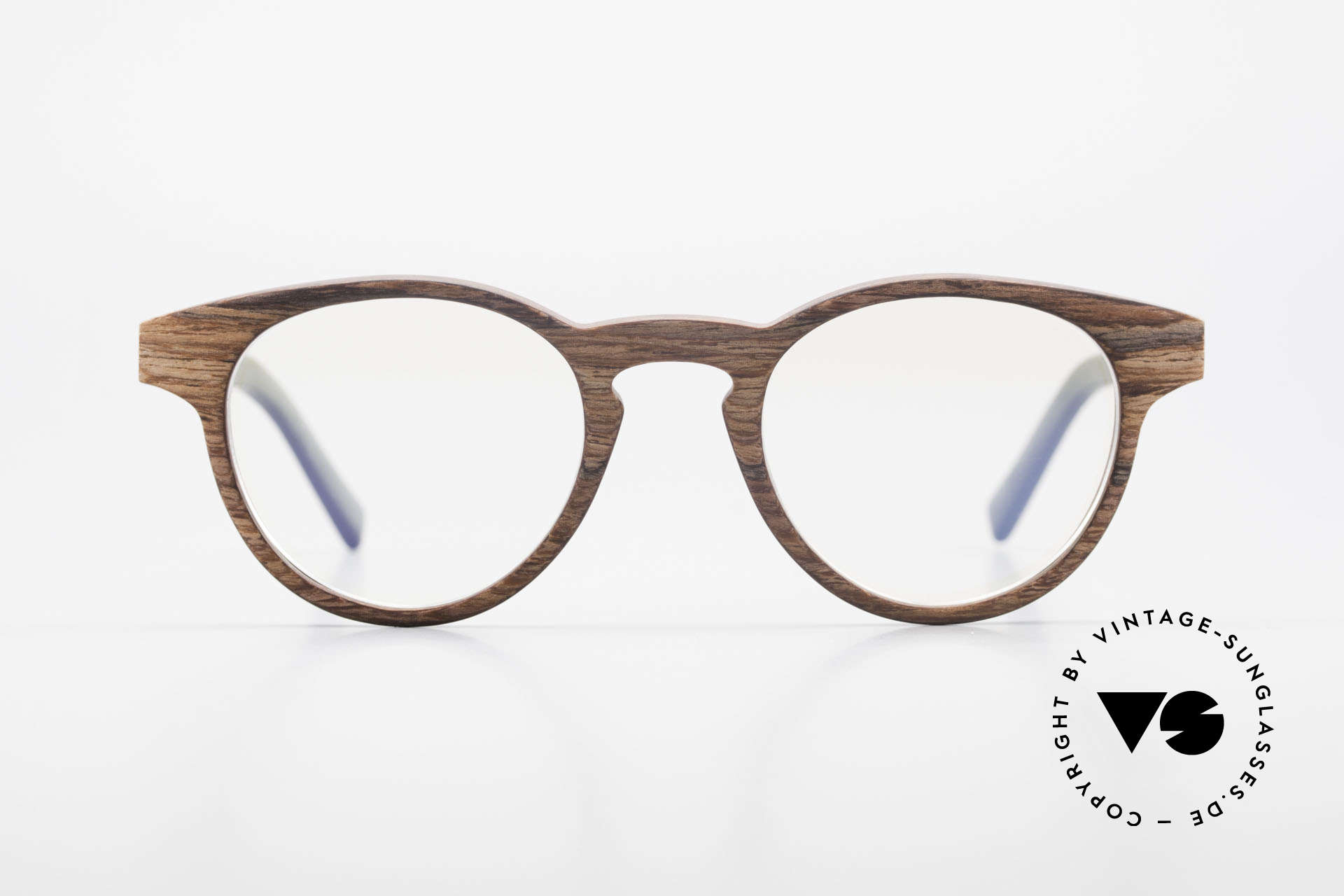 Kerbholz Friedrich Wood Glasses Panto Rosewood, made from Rosewood (African Rosewood / Tanzania), Made for Men and Women