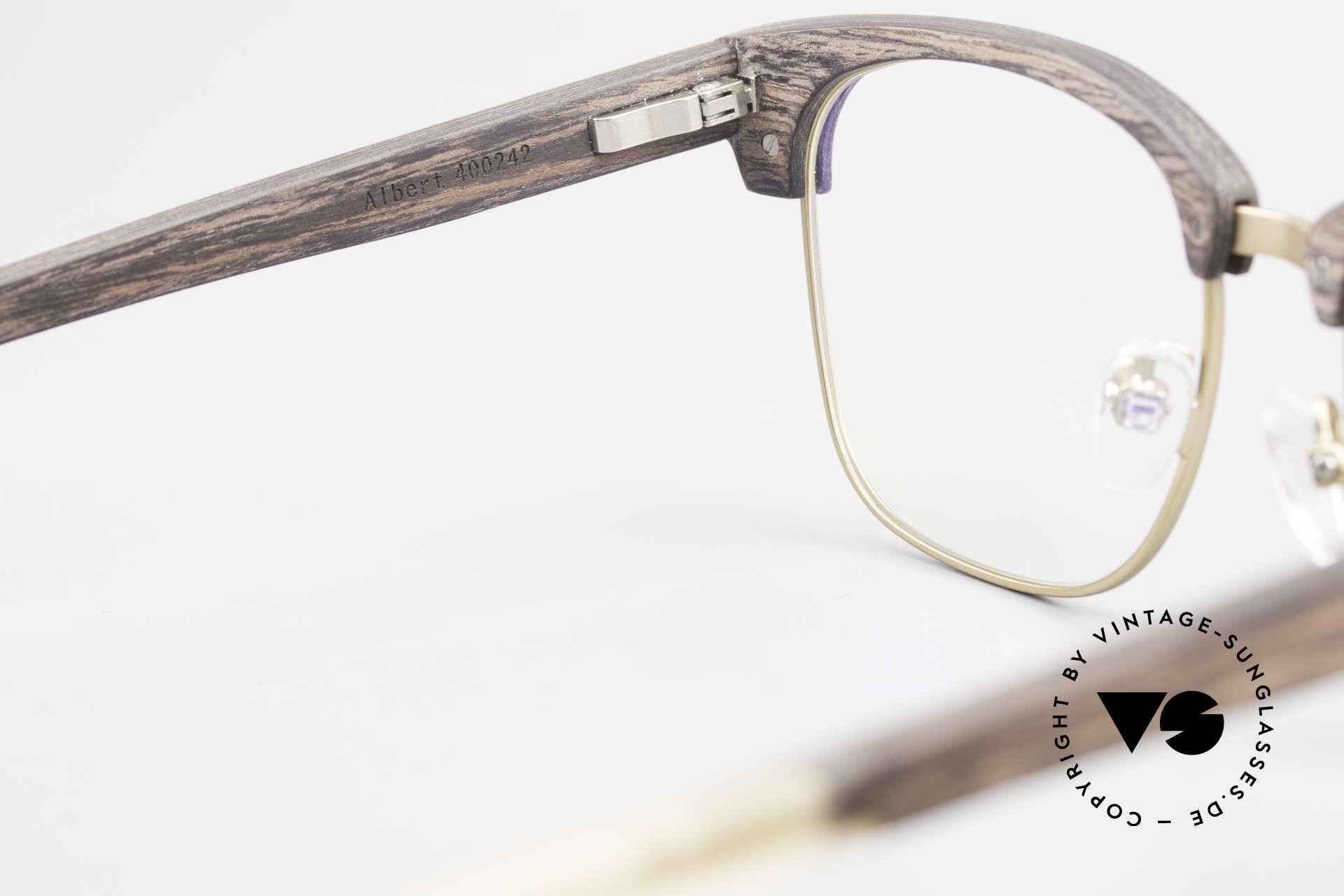 Kerbholz Albert Men's Wood Glasses Kingwood, Size: medium, Made for Men