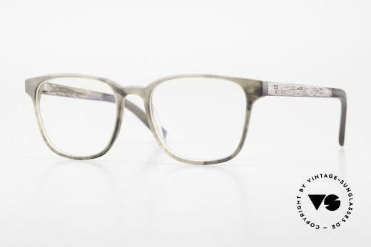 Kerbholz Ludwig Men's Wood Glasses Blackwood Details