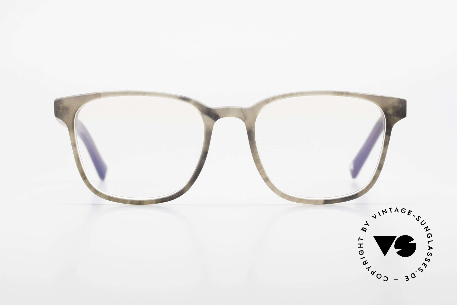 Kerbholz Ludwig Men's Wood Glasses Blackwood, smokey-grey front with temples made from Blackwood, Made for Men