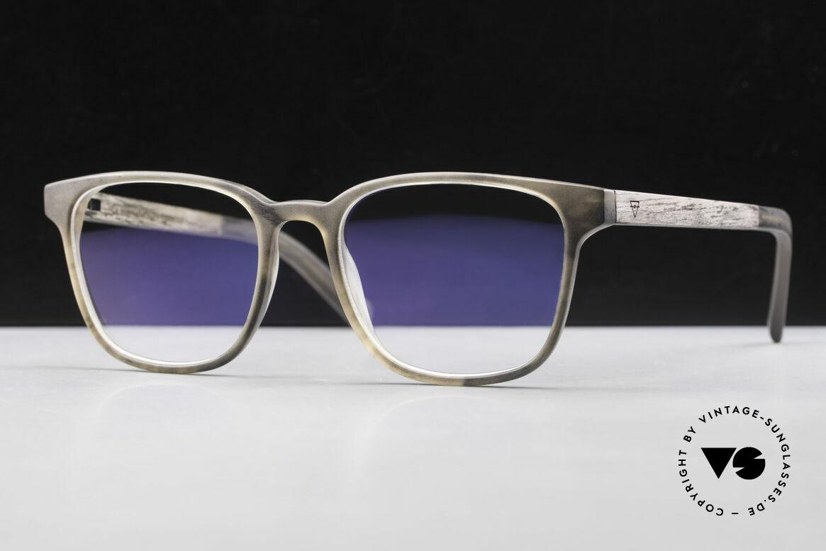 "Kerbholz Ludwig Men's Wood Glasses Blackwood, the basic color varies from ""brown"" to ""brown-black"", Made for Men"