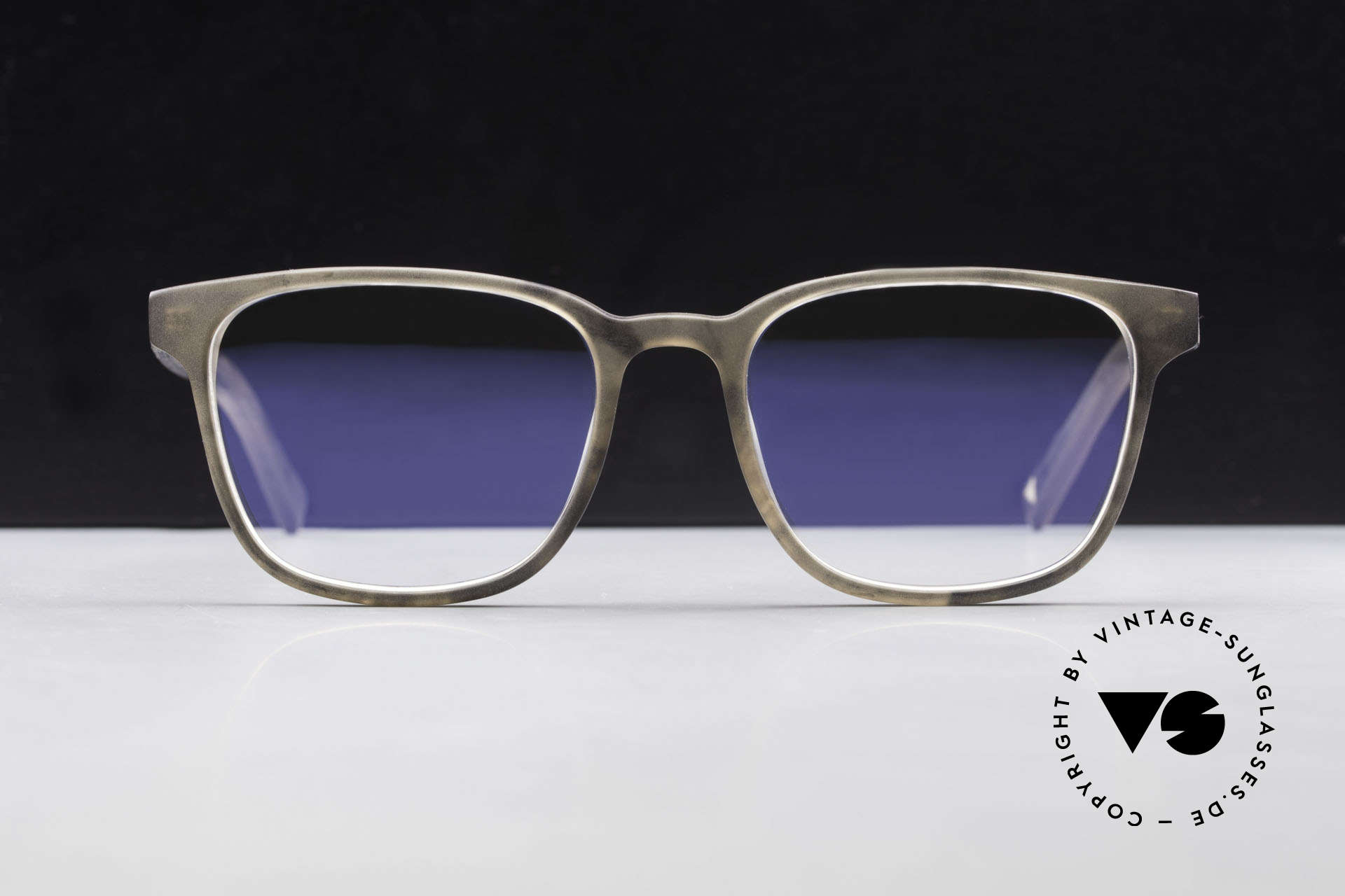 Kerbholz Ludwig Men's Wood Glasses Blackwood, a UNIQUE rarity (pure natural material, handmade), Made for Men