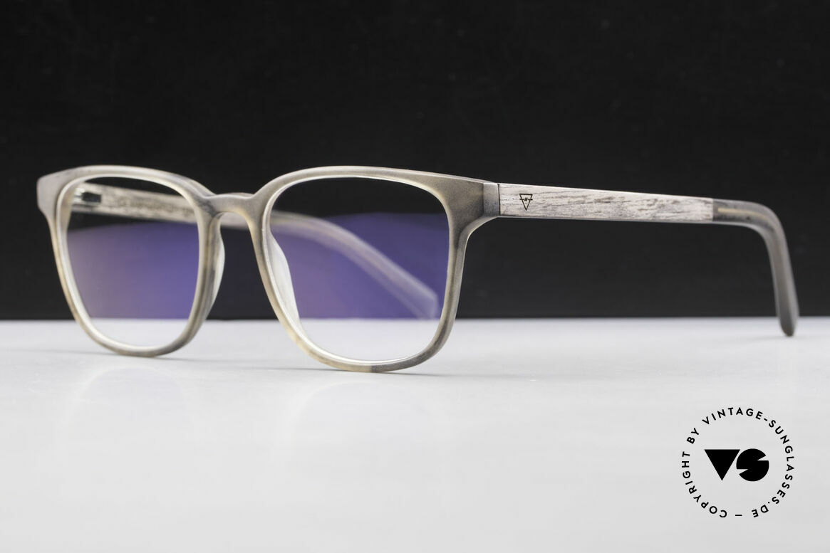 Kerbholz Ludwig Men's Wood Glasses Blackwood, every model (made from pure wood) looks individual, Made for Men