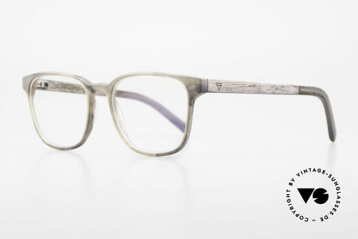 Kerbholz Ludwig Men's Wood Glasses Blackwood, unworn pair with flexible spring hinges (1. class fit), Made for Men