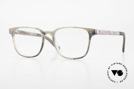 Kerbholz Ludwig Men's Wood Glasses Blackwood, Size: medium, Made for Men