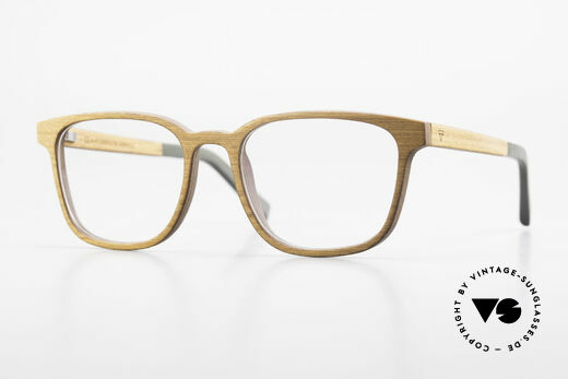 Kerbholz Ludwig Men's Wood Frame Alderwood Details