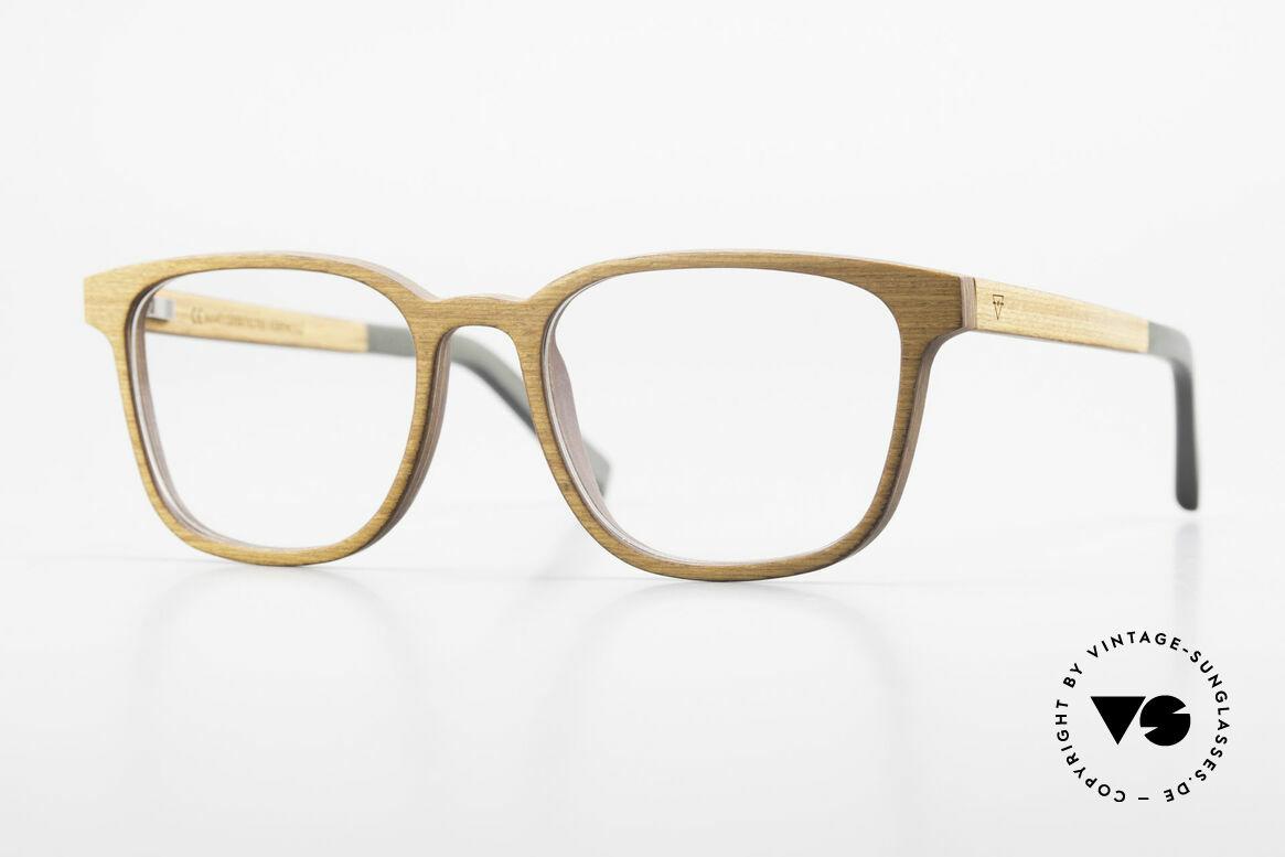 Kerbholz Ludwig Men's Wood Frame Alderwood, men's WOOD glasses by Kerbholz, made in Germany, Made for Men