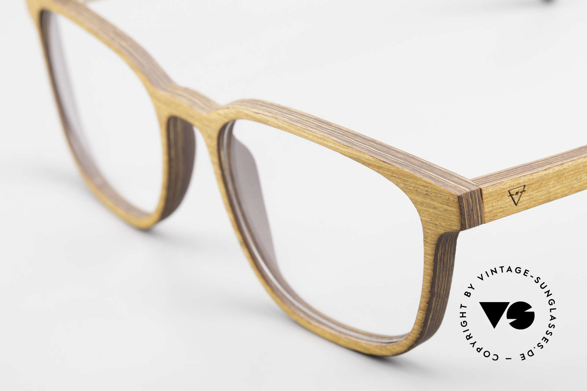 Kerbholz Ludwig Men's Wood Frame Alderwood, a unique rarity (pure natural material, handmade), Made for Men