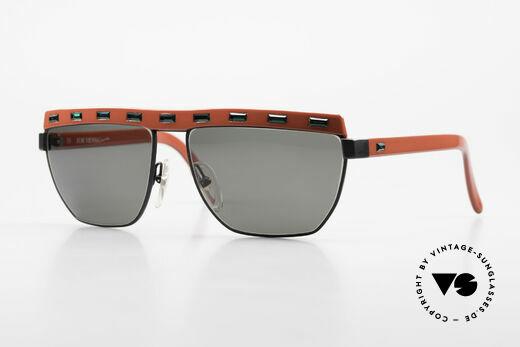 Paloma Picasso 3706 90's Ladies Gem Sunglasses Details