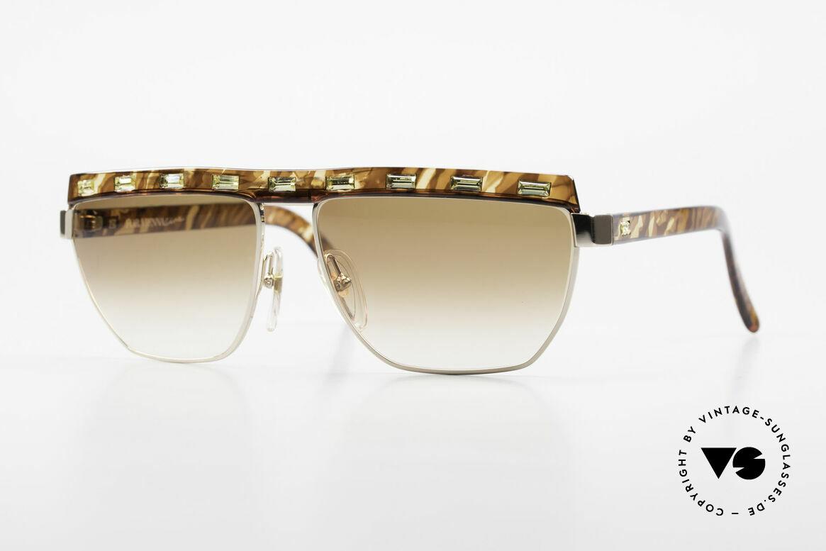 Paloma Picasso 3706 Ladies Gem Sunglasses 90's, ladies 90's designer sunglasses by PALOMA Picasso, Made for Women