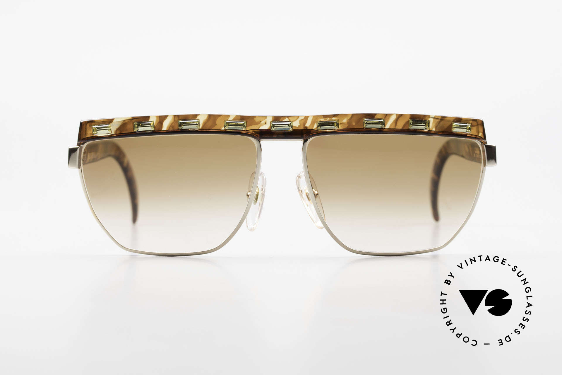 Paloma Picasso 3706 Ladies Gem Sunglasses 90's, Paloma is the youngest daughter of Pablo Picasso, Made for Women
