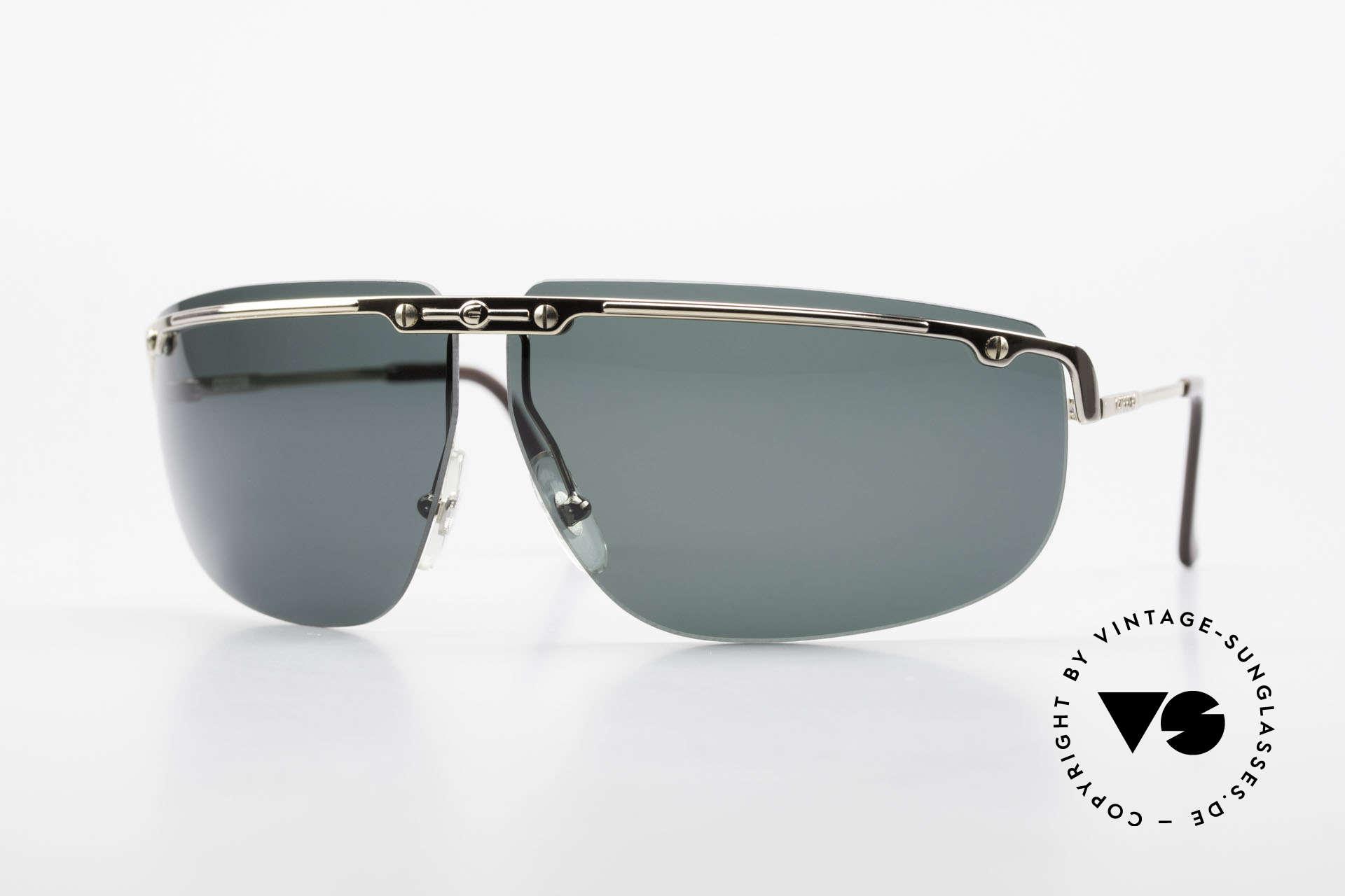 Carrera 5420 90's Wrap Sports Sunglasses, wrap around Carrera sports sunglasses from 1990, Made for Men