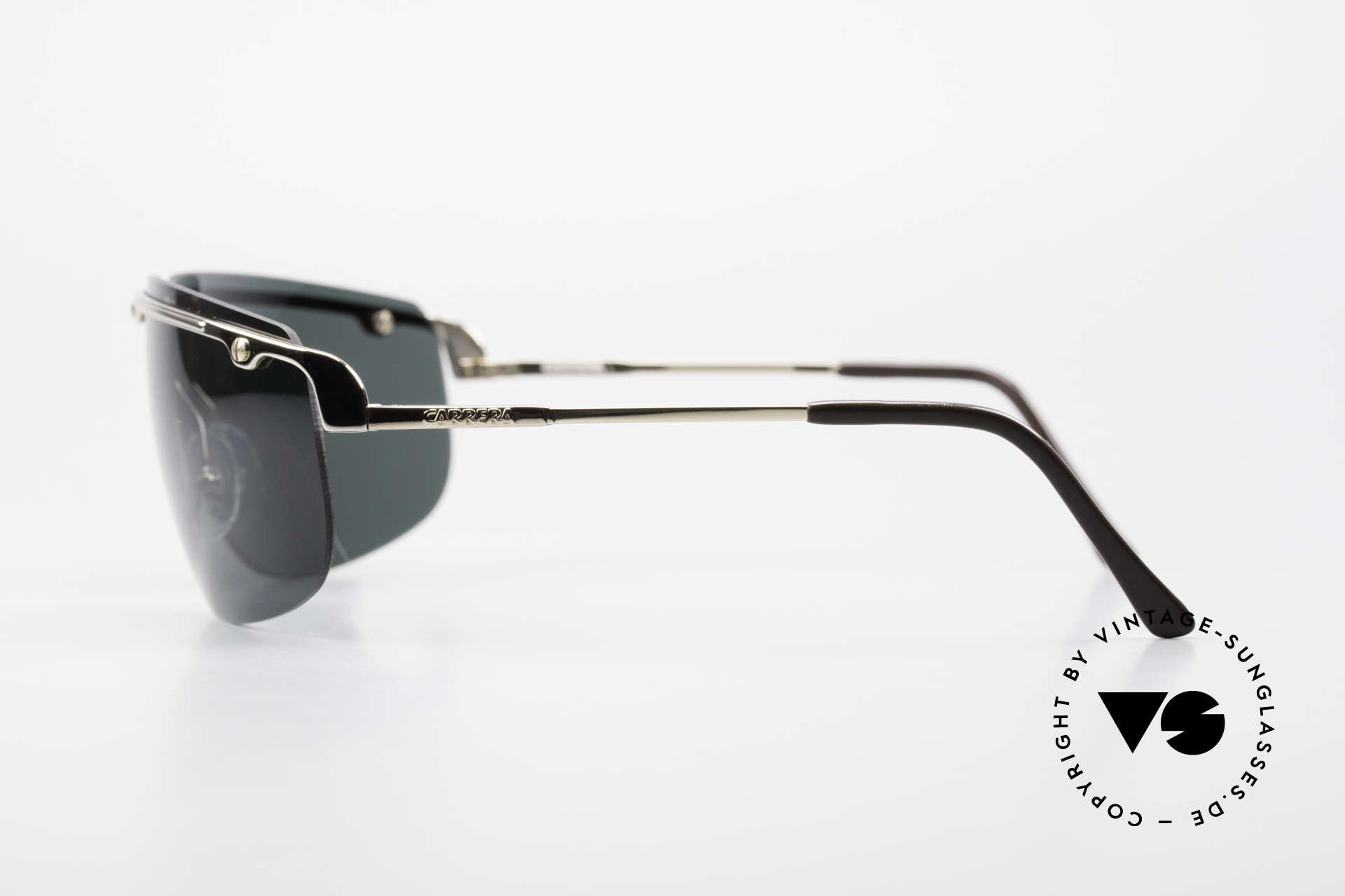 Carrera 5420 90's Wrap Sports Sunglasses, new old stock (like all our rare Carrera sunglasses), Made for Men