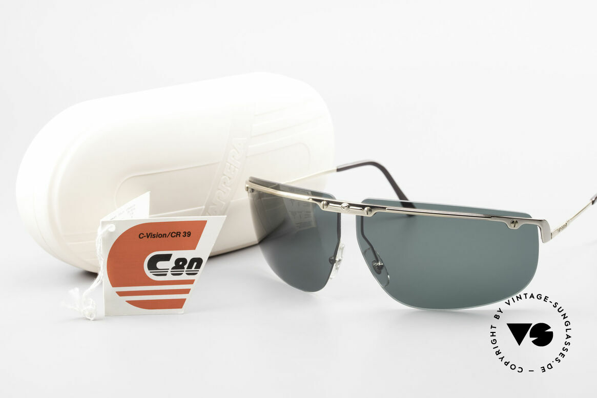Carrera 5420 90's Wrap Sports Sunglasses, Size: large, Made for Men