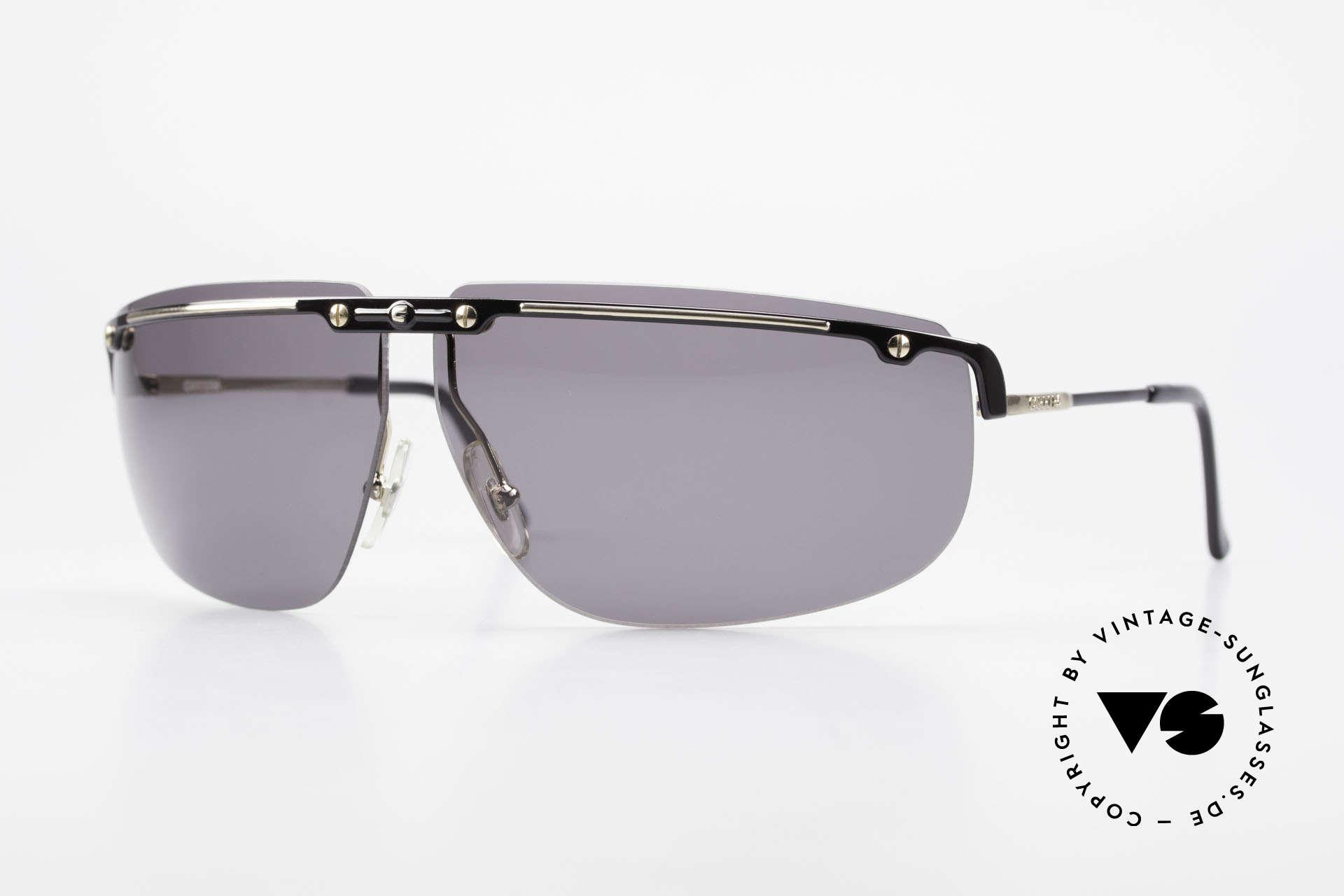 Carrera 5420 90s Wrap Around Sportsglasses, wrap around Carrera sports sunglasses from 1990, Made for Men