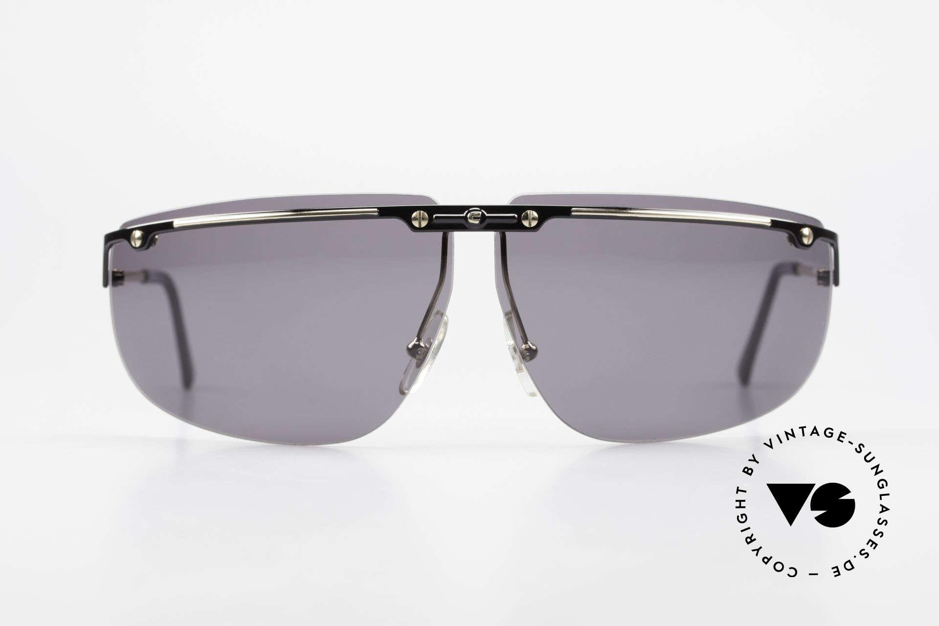 "Carrera 5420 90s Wrap Around Sportsglasses, ""wrap around"" = sporty curved frame & sun lenses, Made for Men"