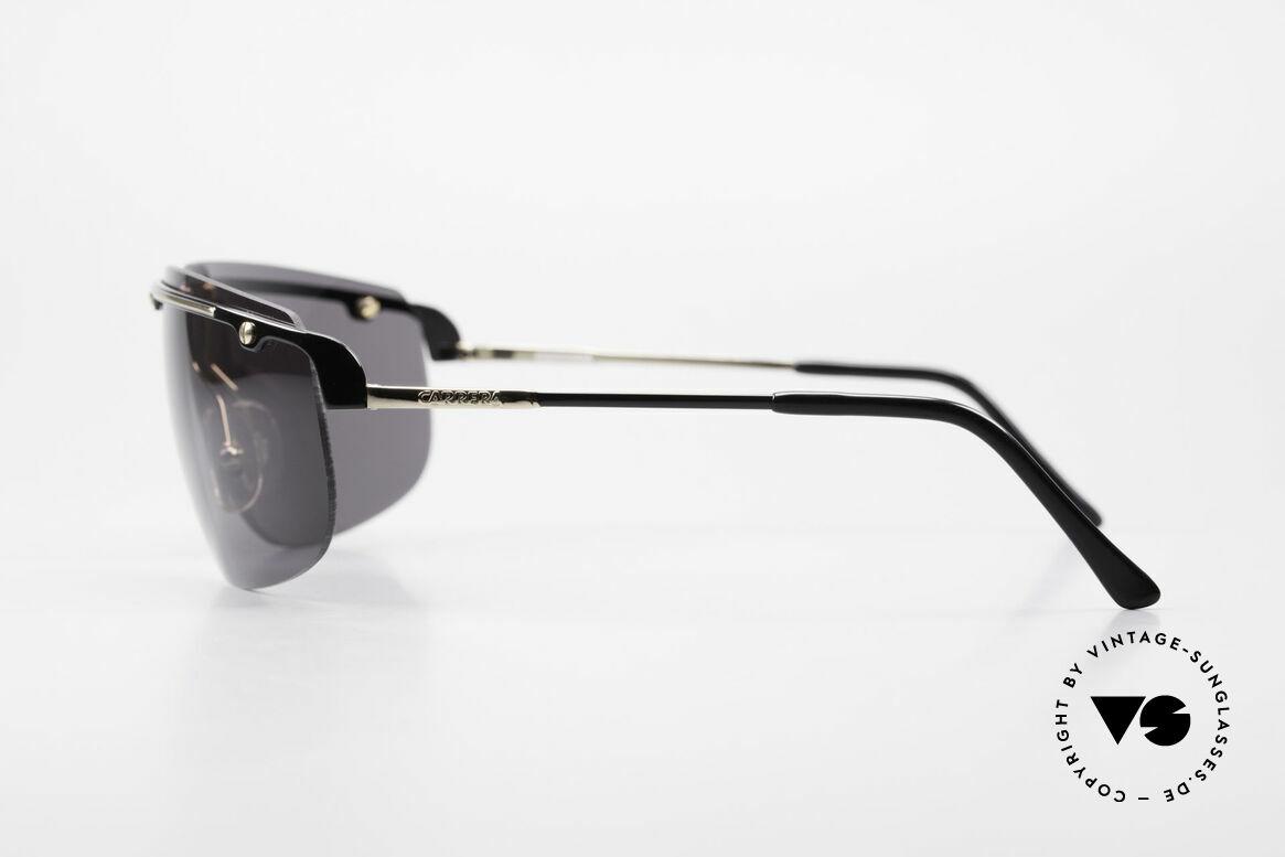 Carrera 5420 90s Wrap Around Sportsglasses, new old stock (like all our rare Carrera sunglasses), Made for Men