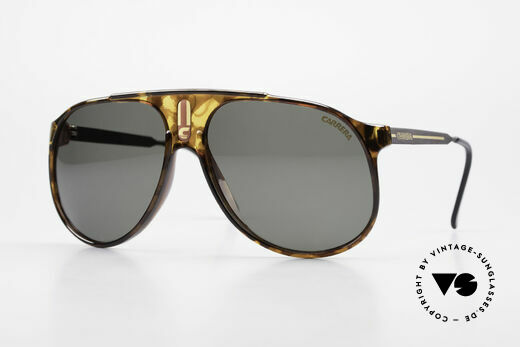Carrera 5424 80's Aviator Sports Sunglasses Details