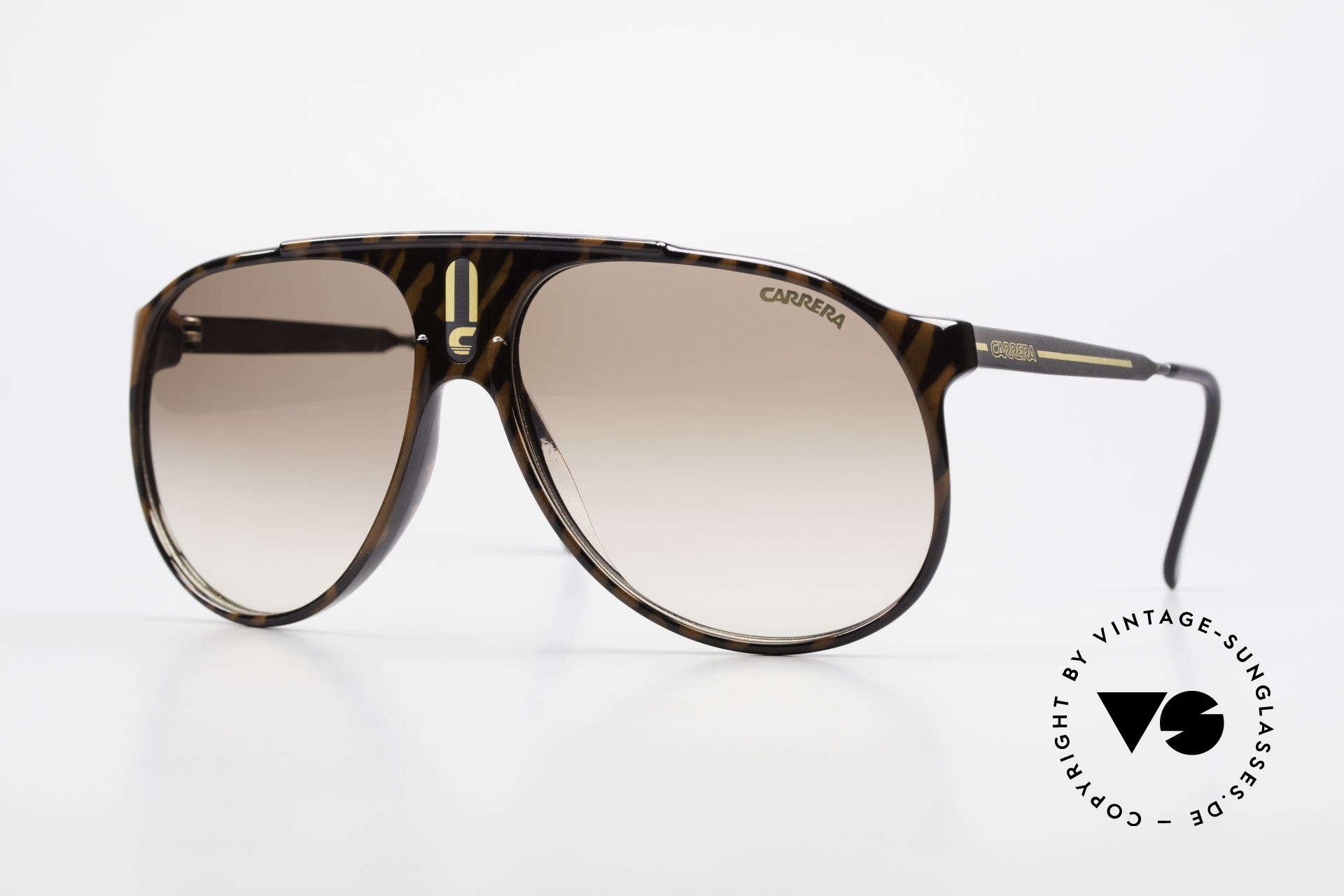 Carrera 5424 Aviator Sports Sunglasses 80's, old 80's sports sunglasses by Carrera; true vintage, Made for Men