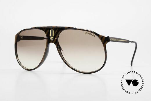 Carrera 5424 Aviator Sports Sunglasses 80's Details