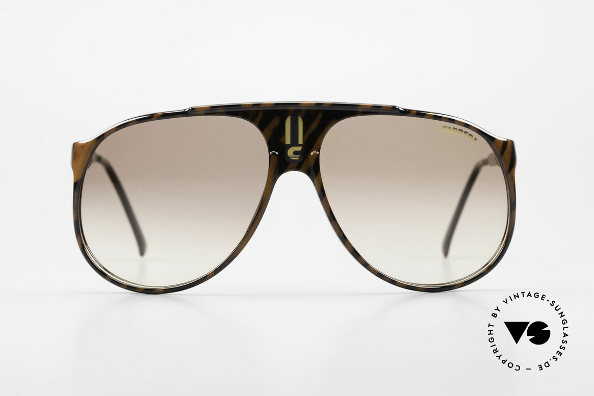 Carrera 5424 Aviator Sports Sunglasses 80's, original catalog name: model 5424 Sky, size 62/13, Made for Men