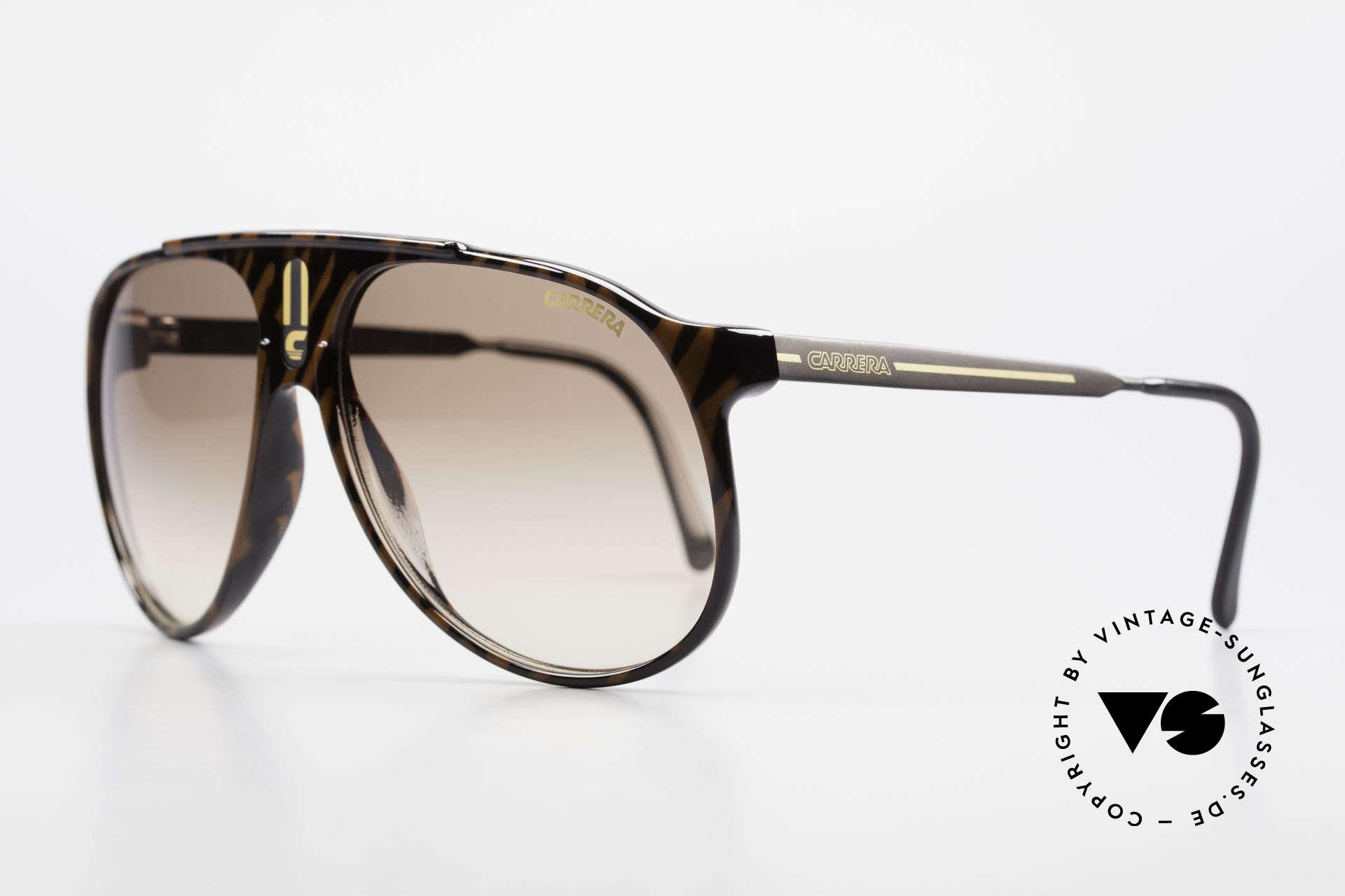 "Carrera 5424 Aviator Sports Sunglasses 80's, combination of ""Sport Performance"" & aviator style, Made for Men"