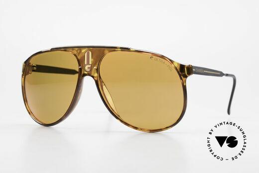 Carrera 5424 80's Sunglasses Polarized Lens Details