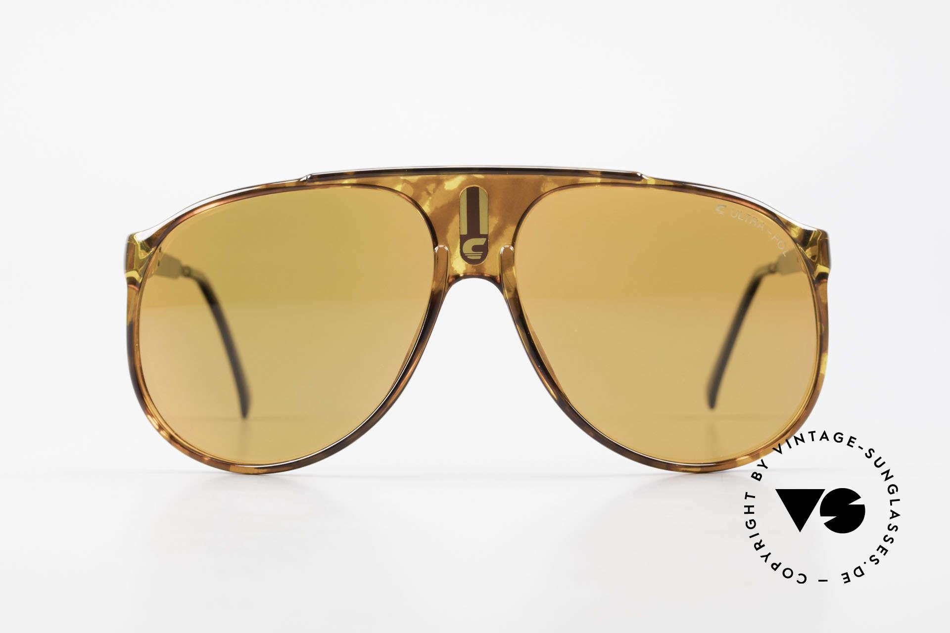 Carrera 5424 80's Sunglasses Polarized Lens, original catalog name: model 5424 Sky, size 62/13, Made for Men