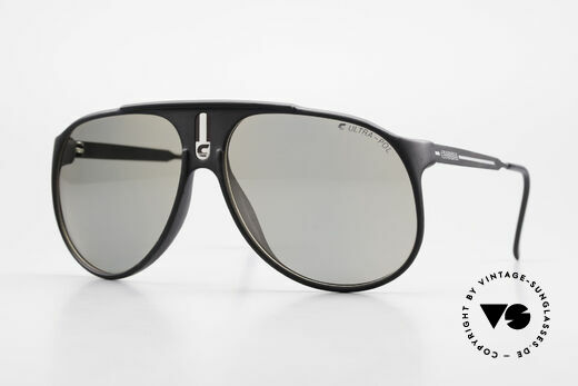 Carrera 5424 Sunglasses Polarized Lens 80's Details