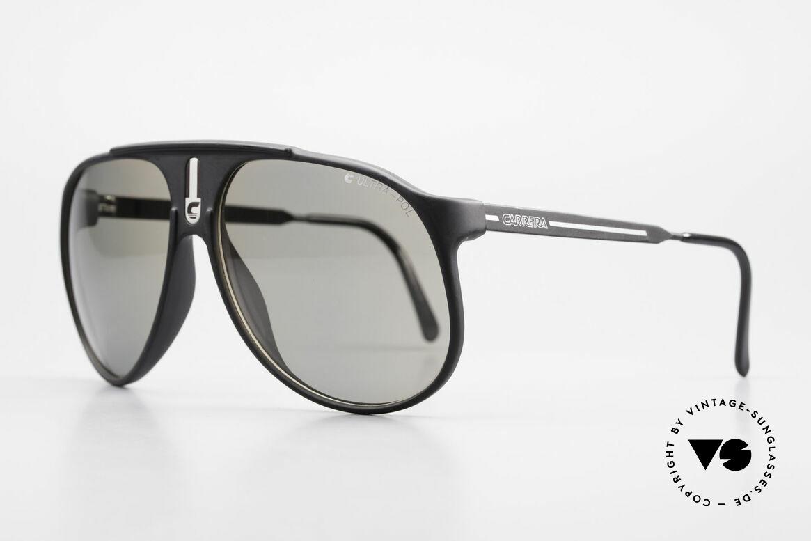"Carrera 5424 Sunglasses Polarized Lens 80's, combination of ""Sport Performance"" & aviator style, Made for Men"